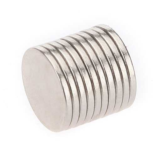 10PCS Super Strong Rare-Earth RE Magnets 10mm x 1mm