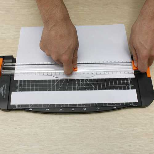 A4 Precision Paper Card Trimmer Guillotine Photo Cutter