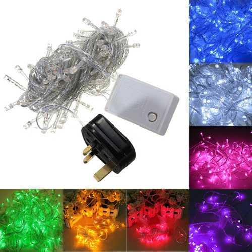 10M 100 LED String Decoration Light For Festival Party 220V