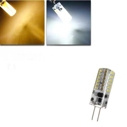 G4 3W White/Warm White 48 SMD 3014 12V LED Corn Light Bulb
