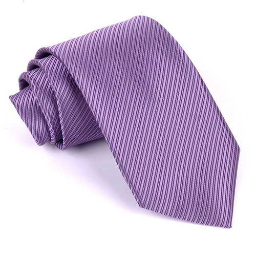Men's Polyester Silk Striped 13 Solid Color Neck Ties