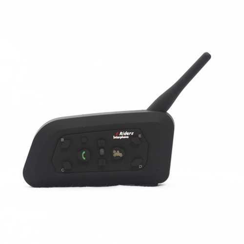 1000M Motorcycle Helmet Intercom Interphone With Bluetooth Function V6-1200