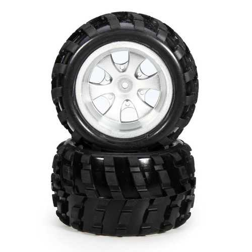 2PCS Wltoys A979 Front Wheel Left Side Tires RC Car Spare Parts A979-01