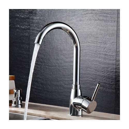 Bathroom Bathtub Faucet Solid Brass Chrome Kitchen Basin Sink Mixer Tap