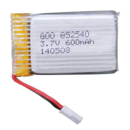 3.7V 600mAh 25C Lipo Battery for Eachine X73 QX95 QX90 QX80 QX100 Syma X5C H5C X5 X5SC Fire 104
