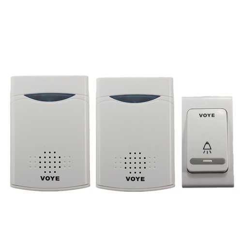 38 Music Chime Wireless Doorbell 1 Remote Control + 2 Receiver