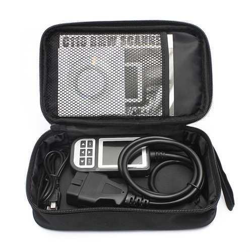 C110 Car OBD2 Diagnostic Scanner Fault Code Reader Tool Airbag Scan For BMW