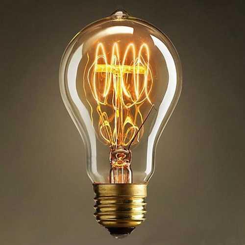 3X Incandescent Bulb E27 40W 220V Retro Edison Style Light Bulbs