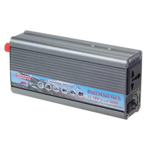 1000W Car 12V To 220V Power Inverter Car Power Converter