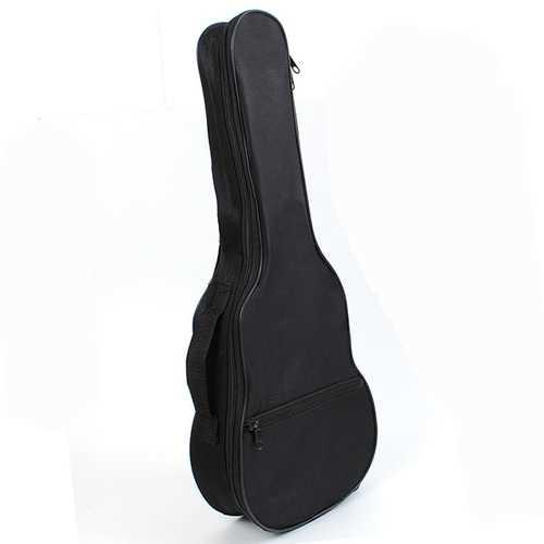 21 Inch Ukulele Gig Bag Case Shoulder Strap Black Light Gear