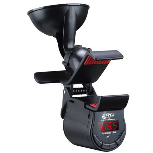 A7 Car Hands Free FM Transimittervs 360 Degree Rotation Phone Holder
