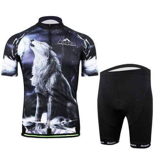 3D Cycling Bike Clothing Sportswear Bicycle Cloth Suit Bib Shorts