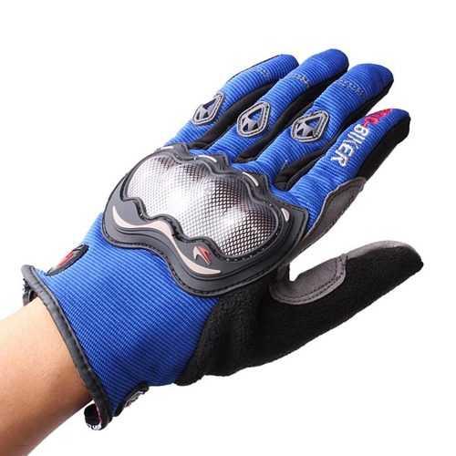 Full Finger Safety Bike Motorcycle Racing Gloves for Pro-biker MCS-01A
