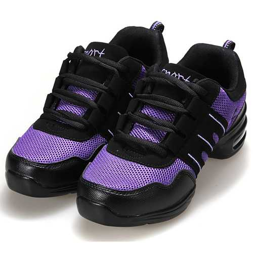 Modern Jazz Hip-hop Dance Shoes Casual Breathable Sneakers