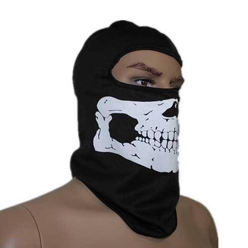 Cycling Mask  Skull Bone Balaclava Face Head Wrap Neck Hood Protector