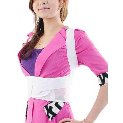 JORZILANO Adjustable Straightener Back Correct Belt Posture Brace
