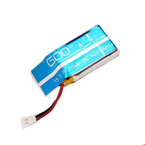 WLtoys V931 RC Heli Parts 3.7V 720mAh 1S 25C Upgraded Battery