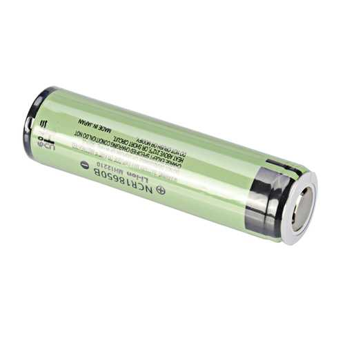 1pcs NCR18650B 3400mAh 3.7V Gold Plating Protected Rechargeable Li-ion Battery