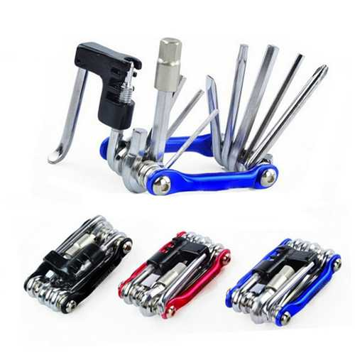 10 in1 Multifunction Bike Bicycle Repair Tool Hex Wrench Screwdriver