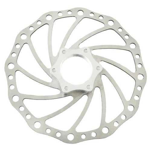 Bicycle Brake Disc MTB Road Bike Braking Round Hole with Thread