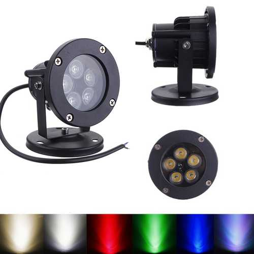 10W LED Flood Spot Lightt For Garden Wall Yard Path IP65 AC 85-265V