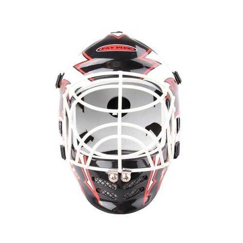 REIZ Sport Protective Helmet Equipped Ice Hockey Goalie Helmet