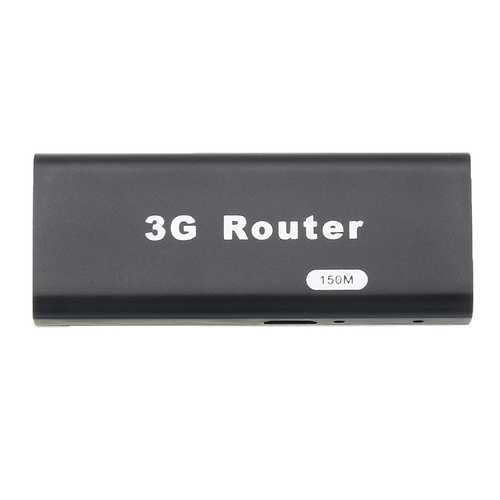 M1 Portable 3G WiFi Hotspot IEEE802.11b/g/n 150Mbps RJ45 USB Router
