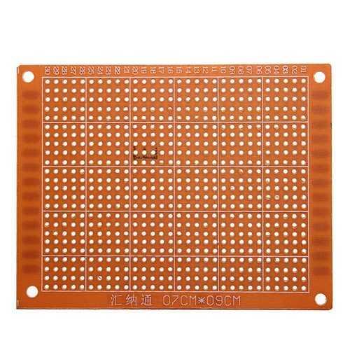 10Pcs 7x9cm PCB Prototyping Printed Circuit Board Prototype Breadboard