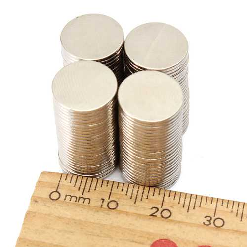 100pcs N50 Round Disc 12 x 1mm Magnet Rare Earth Neodymium Magnetic Toys