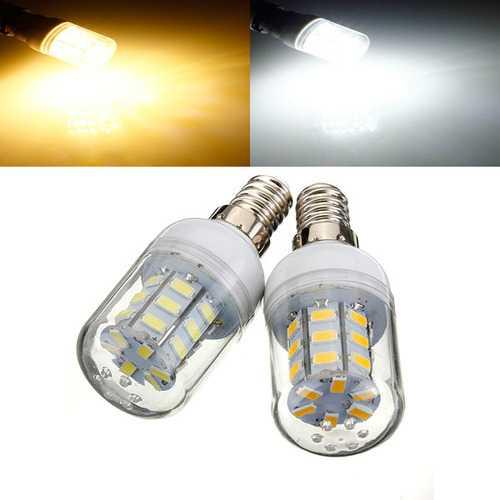 E14 3.5W White/Warm White 5730 SMD 27 LED Corn Light Bulb 24V