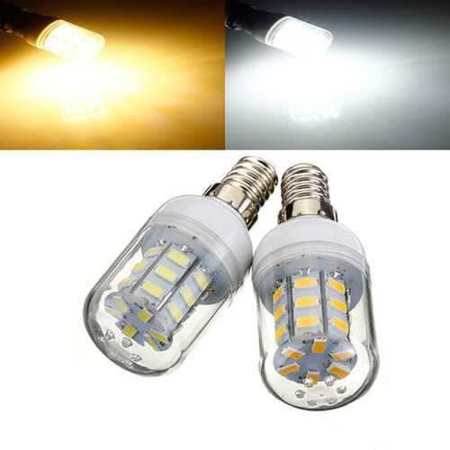 E14 4W White/Warm White 5730 SMD 27 LED Corn Light Bulb 12V