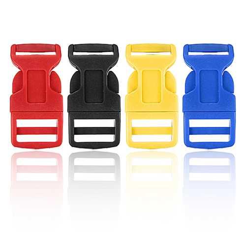 Plastic Contoured Side Release Buckles Belts for Paracord Bracelet