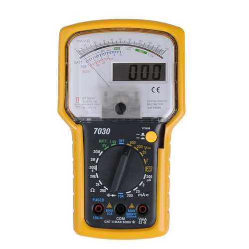 KT7030 Professional Digital Dual Display Analogue Multimeter Tester