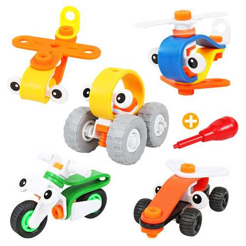 Creative Assembled Nut Combination Toy Educational Toys