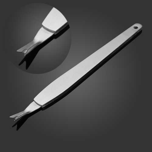 Stainless Steel Dead Skin Remover Cuticle Peeling Fork