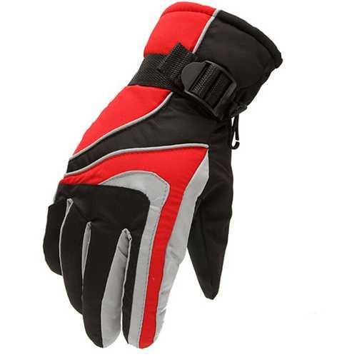 Anti Skid Waterproof Windproof Warmth Ski Gloves Outdooors Sport