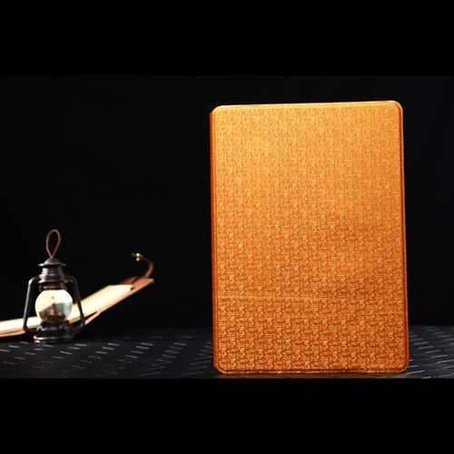 Slim Folio Book Style Maze Grain Stand Leather Case For iPad Air 2
