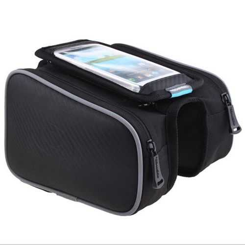 5.7inch Roswheel 1.8L Bicycle Bike Pouch Pannier Front Tube Bag
