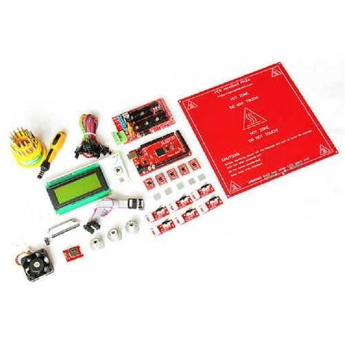 3D Printer DIY Kit Mega2560 Ramps1.4 A4988 LCD2004 MK2A