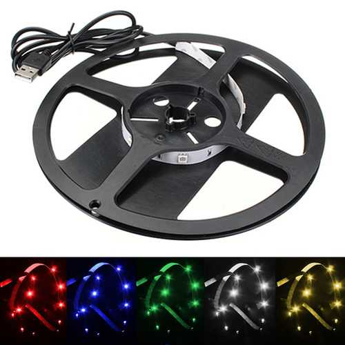 50cm Non-Waterproof LED Strip Light TV Background Light With AC 5V