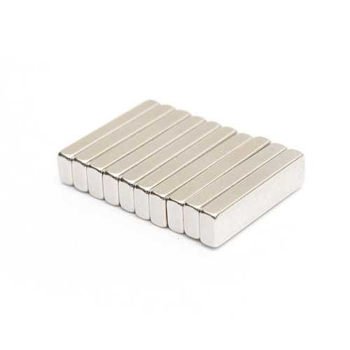 10pcs Block Super Strong Cuboid Magnets Rare Earth Neodymium 20x5x3mm