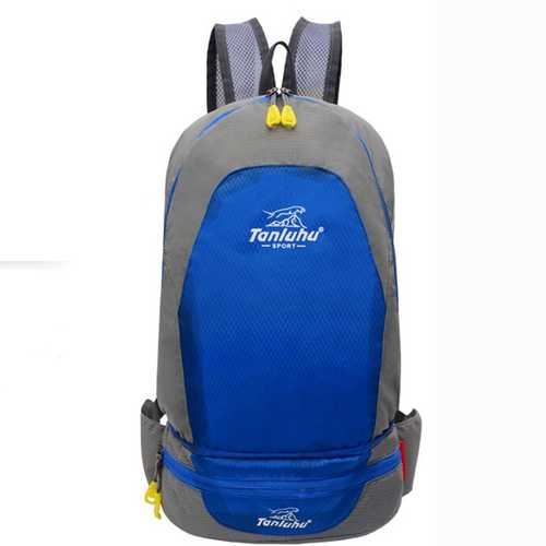 Men Women Folding Multifunctional Portable Backpack Pocket Bag