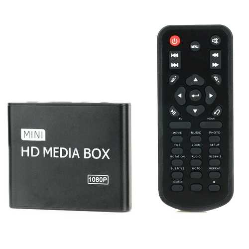 HD 1080P HDD Car Multi-Media AV Advertising Player