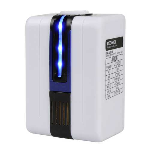 ANJ 110-240V Negative Ion Anion Home Mini Air Purifier Ozonator Purify Cleaner with Adapter