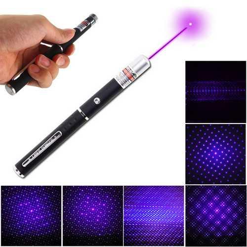 XANES PL01 405nm Purple Light Laser Pointer Pen with Star Cap Head