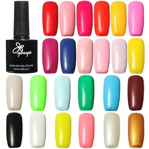 10ml Glossy Soak Off UV Gel Polish Long Lasting Nail Art Manicure