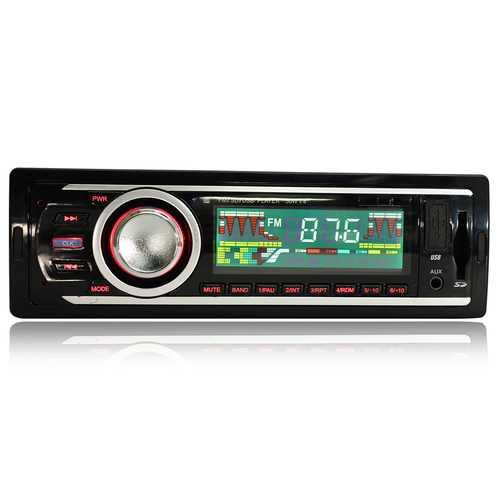 Car In Dash AUX Audio Stereo MP3 Player FM Receiver Radio USB Input
