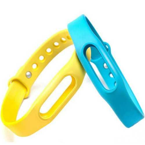 2PCS Original Colorful Xiaomi Miband Bracelet Wrist Strap