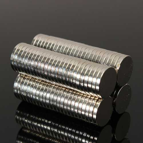100pcs N50 10x1.5mm Strong Cylinder Disc Magnets Rare Earth Neodymium Magnets