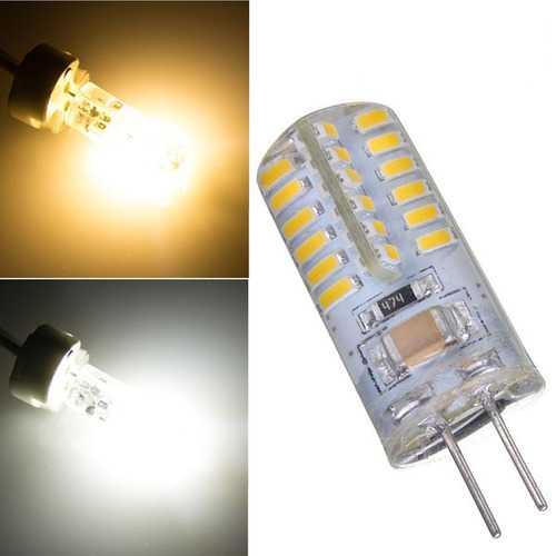 G4 2.6W Warm White/Pure White 48 SMD 3014 LED Light Bulb Lamp 220V